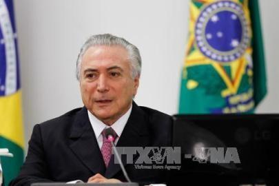 ブラジル大統領代行、公的歳出抑制へ憲法改正目指す - ảnh 1