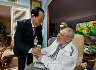 フィデル前議長は、永遠にベトナム国民の心に存在する - ảnh 2