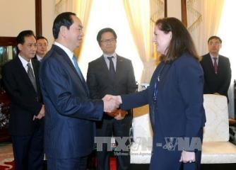 クアン主席、APECのため米国ナショナルセンター長と会見 - ảnh 1