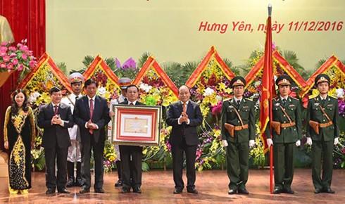 フック首相 フンイエン省誕生185周年記念式典に出席 - ảnh 1