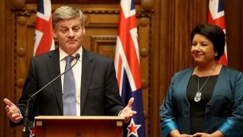 ニュージーランドの新首相に副首相が就任 - ảnh 1