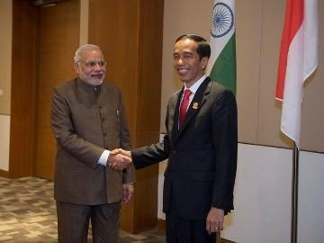 インドとインドネシア 中国念頭に軍事面で連携強化合意 - ảnh 1