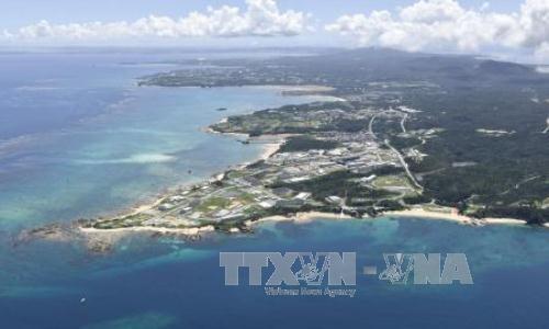 「辺野古断念まで屈しない」=最高裁判決に200人抗議-沖縄 - ảnh 1