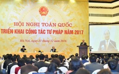 2017年の司法活動方針会議 - ảnh 1