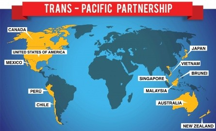 TPP発効、自由貿易推進を確認 石原担当相、NZ貿易相と会談 - ảnh 1