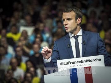 ロシア、仏大統領選にも干渉か マクロン氏「偽ニュースで中傷」 - ảnh 1