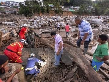 コロンビア土砂崩れ、死者273人に 依然200人以上行方不明 - ảnh 1