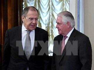 米国務長官、ロシア外相と電話協議  - ảnh 1