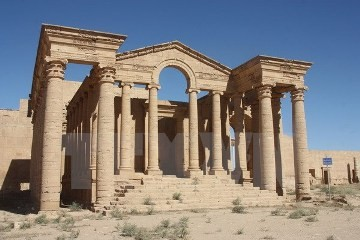 イラク 世界遺産のハトラ遺跡をISから奪還 - ảnh 1