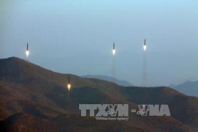 朝鮮民主主義人民共和国のミサイル発射、制裁強化目指す米主導の動きに反発か - ảnh 1
