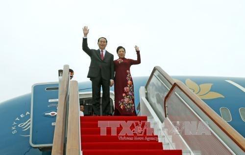 Le président Tran Dai Quang se rendra en Russie et en Biélorusse - ảnh 1