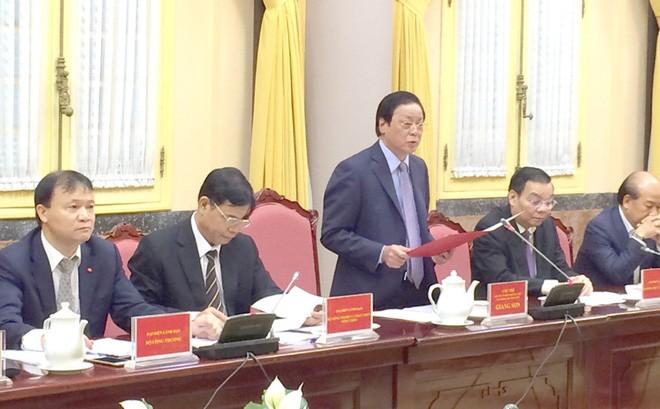 国家主席事務局 12件の法律を公表 - ảnh 1