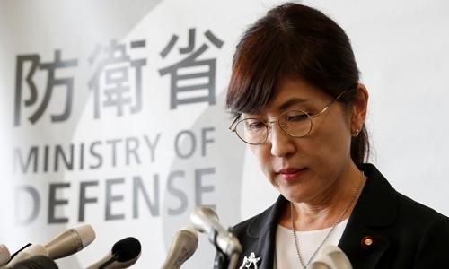 稲田防衛相、辞任を表明…PKO日報問題で引責 - ảnh 1