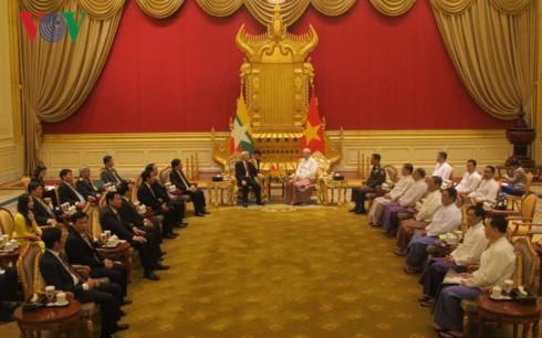 ベトナム・ミャンマー 全面的パートナーシップを合意 - ảnh 1