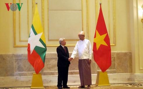 ベトナム・ミャンマー 全面的パートナーシップを合意 - ảnh 2