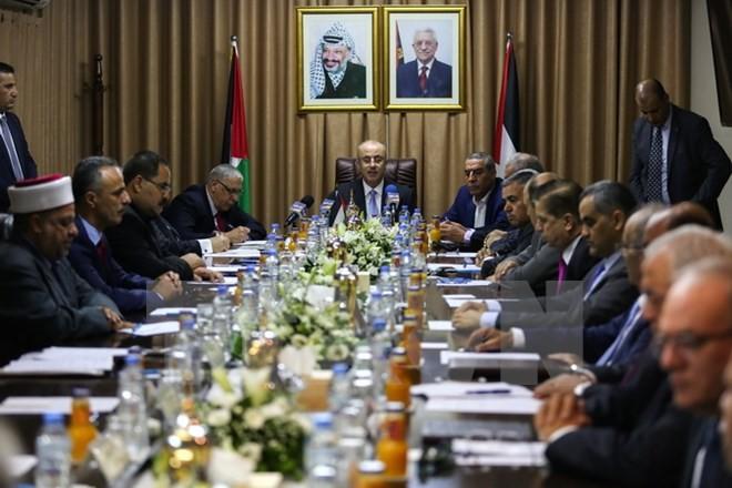 パレスチナ自治政府、3年ぶりにガザで閣議 ハマスとの和解目指す - ảnh 1
