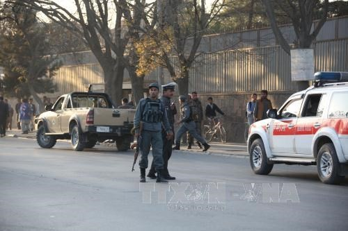カブールの大使館集まる地区で自爆テロ 4人死亡 - ảnh 1