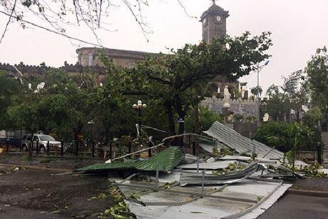 台風ダムレイ、カインホア省上陸 - ảnh 1