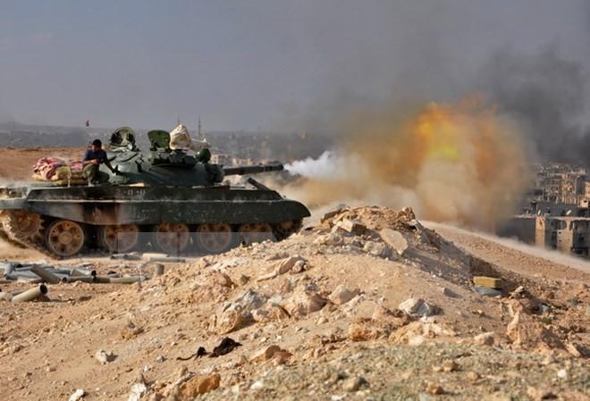 仏大統領「シリアの平和維持に向け政治対話を」 - ảnh 1