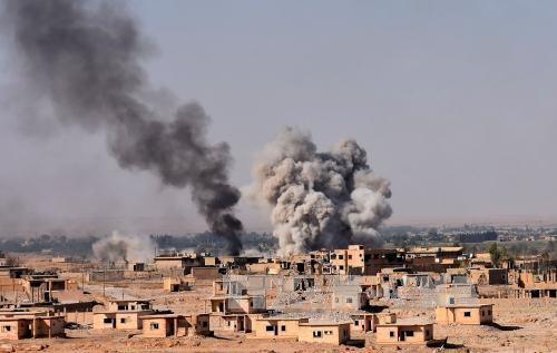 IS最後の拠点制圧か=シリア国内ほぼ一掃へ - ảnh 1
