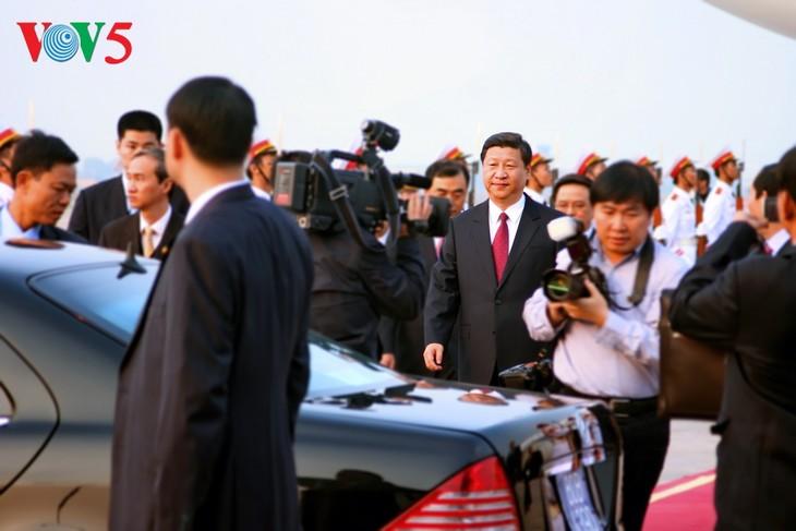 中国マスメディア、習国家主席によるベトナム国賓訪問を報じる - ảnh 1