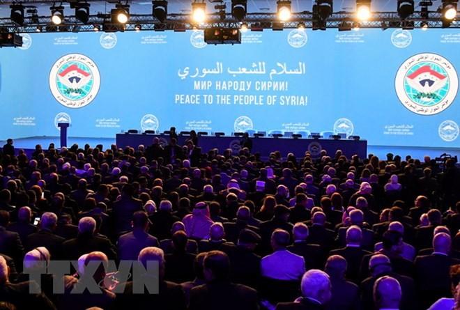シリア和平会議、憲法委員会設立で合意 - ảnh 1