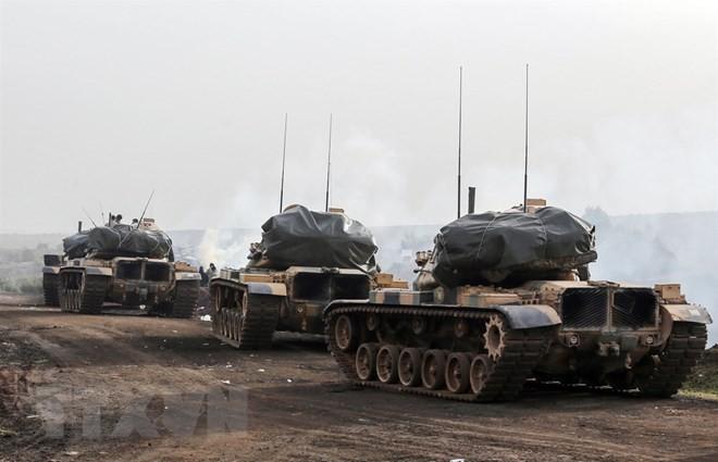シリアのクルド人勢力、トルコ軍対抗でアサド政権と協力と - ảnh 1