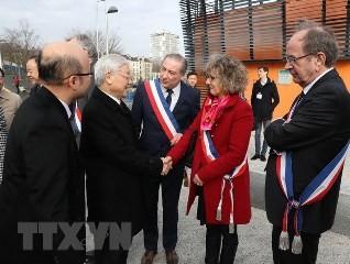 仏紙、チョン書記長による仏公式訪問を報じる - ảnh 1
