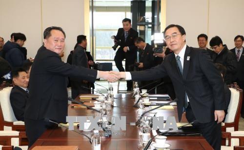 南北閣僚級が協議、北の代表「かつてない変化」 - ảnh 1