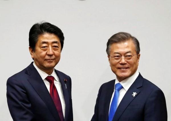 Shinzo Abe invite le président sud-coréen à Tokyo - ảnh 1