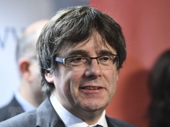 ドイツで拘束のカタルーニャ前首相 保釈される - ảnh 1