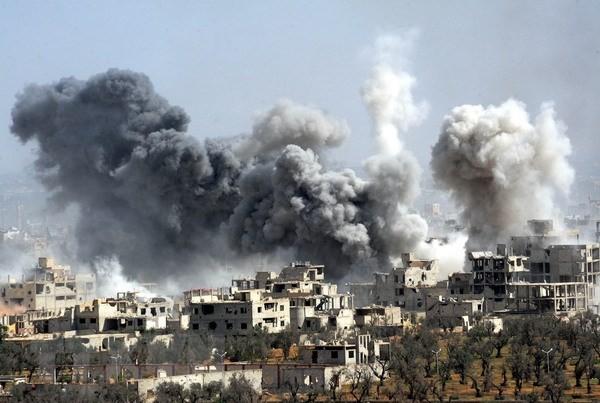 シリアで化学兵器使用疑惑 国連安保理会合へ - ảnh 1