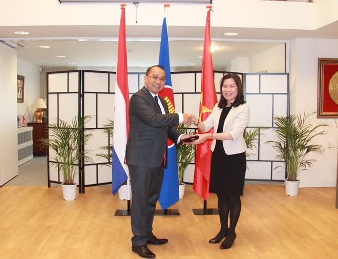 オランダ駐在ベトナムの大使、在ハーグASEAN委員長を務める - ảnh 1