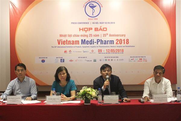 まもなく、第25回国際医薬品展示会が開催  - ảnh 1