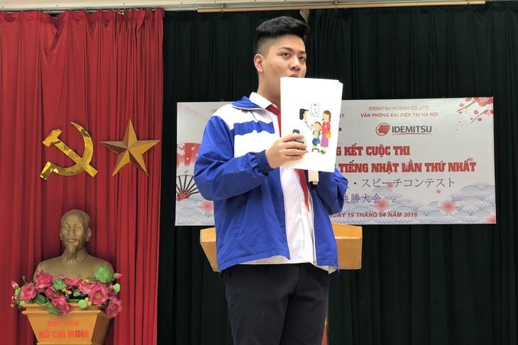トホアン中学校での日本語歌・スピーチコンテスト - ảnh 4
