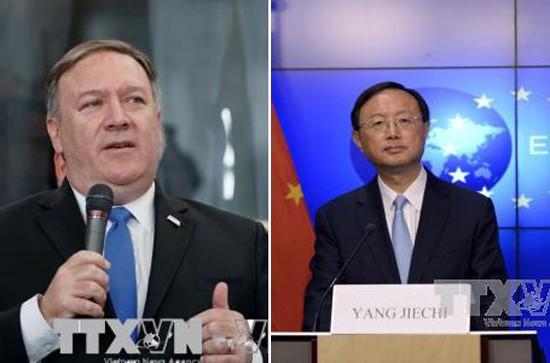 米中が朝鮮半島の非核化めぐり電話会談 - ảnh 1