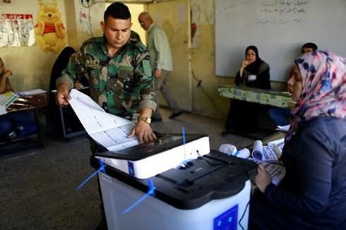 イラク総選挙、投票率44% 過去4回で最低 - ảnh 1