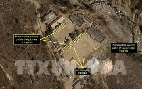朝鮮 核実験場を「23日から25日に廃棄」 - ảnh 1
