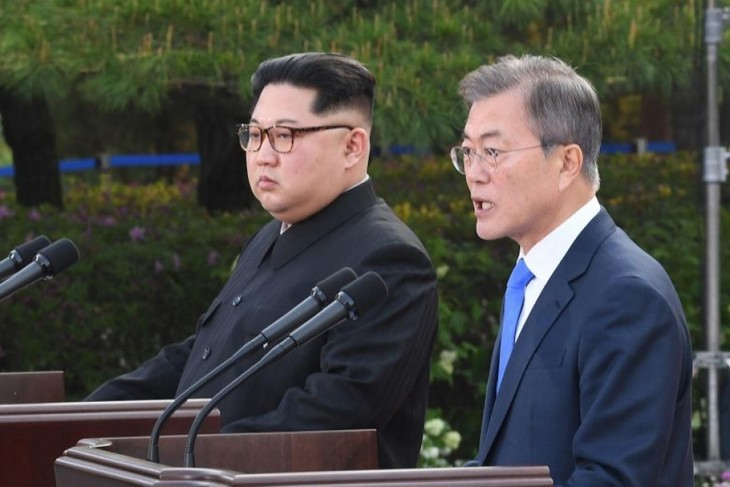 南北閣僚級会談、16日に開催へ 非核化宣言の履行で協議 - ảnh 1