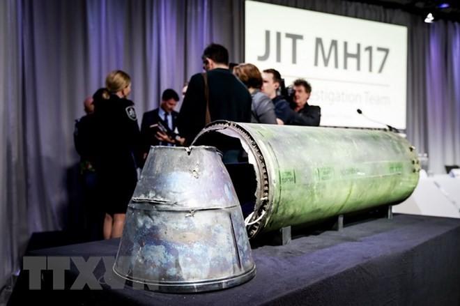 ロシア軍ミサイルと断定=14年のマレーシア機撃墜-国際捜査 - ảnh 1