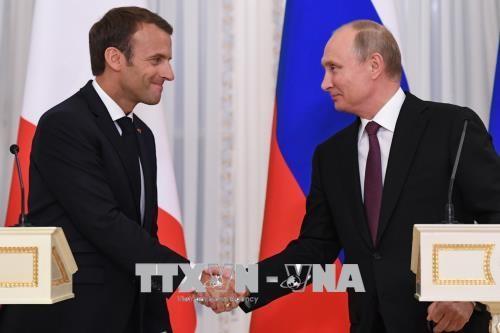 ロシアとフランスの大統領、核合意の維持を強調 - ảnh 1