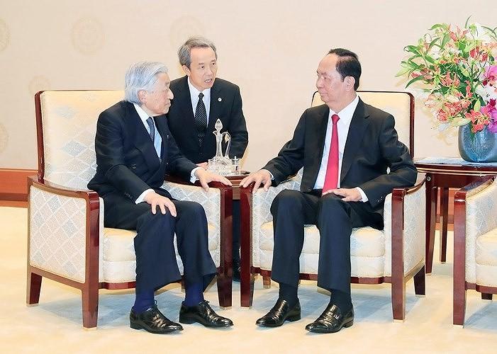 日越関係の新しい節目を記すクアン国家主席の国賓訪問 - ảnh 1