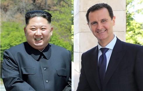 シリア大統領、朝鮮民主主義人民共和国訪問の意向 金正恩氏と会談へ - ảnh 1
