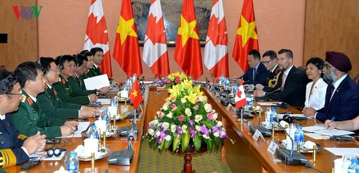 カナダ国防大臣 ベトナムを公式訪問 - ảnh 1