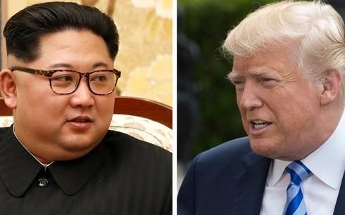 米朝首脳会談、シンガポール時間6月12日午前9時開始の予定=ホワイトハウス - ảnh 1