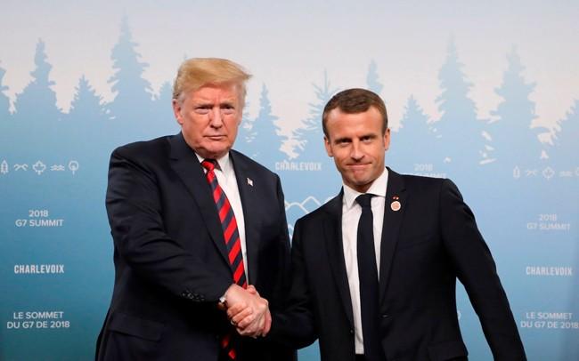G7 トランプ大統領 貿易赤字削減に向けた主張貫く姿勢 - ảnh 1