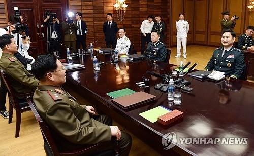 南朝鮮民主主義人民共和国が、軍事境界線付近での緊張緩和に向けて軍事協議を実施 - ảnh 1