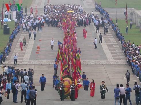 ベトナム建国の祖フン王を祀る信仰 団結の基盤 - ảnh 2