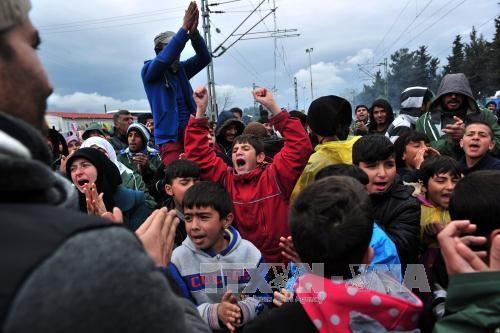 難民問題 欧州の亀裂につながる - ảnh 1