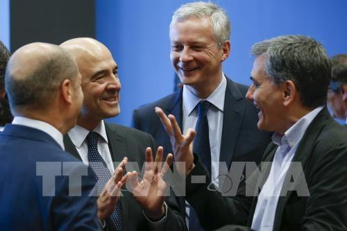 ギリシャ財政危機の「終息」宣言、ユーロ圏財務相会合 - ảnh 1